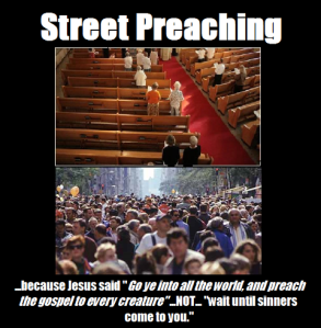 street preaching