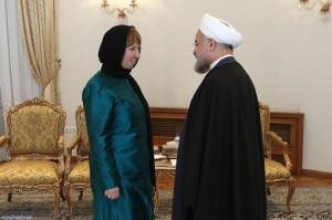 iran ashton