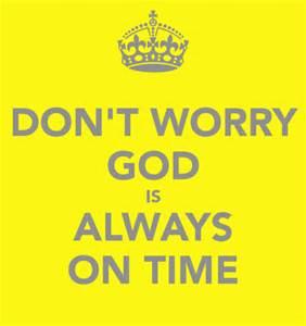 god on time
