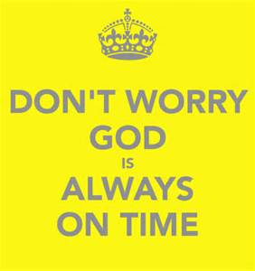 god on time