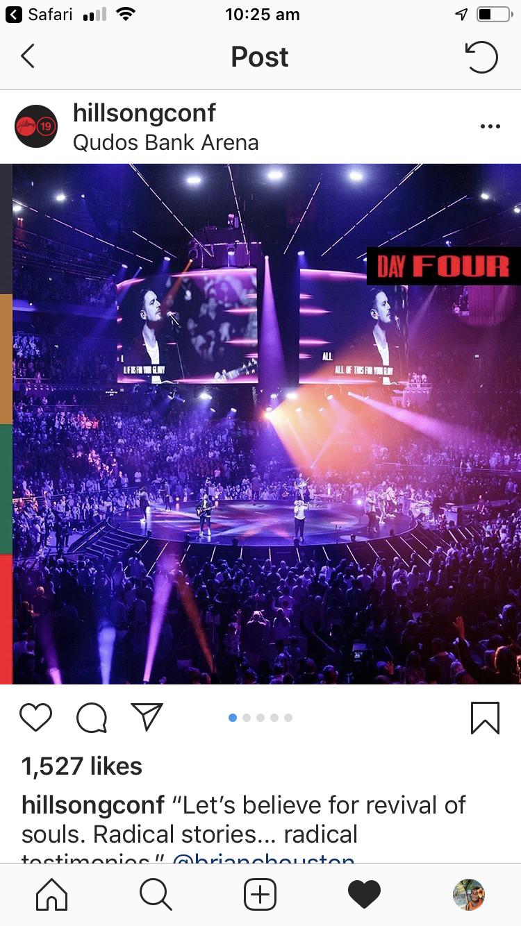 Hillsongconf instagram
